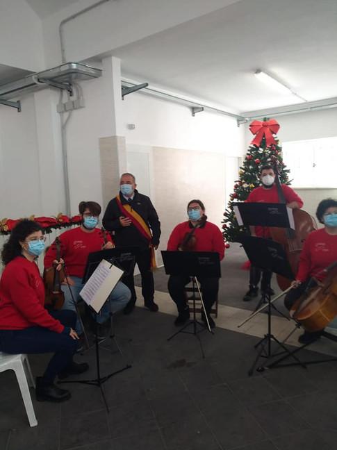 Concerto Evento Mercato Viale Adriatico 05/12/20