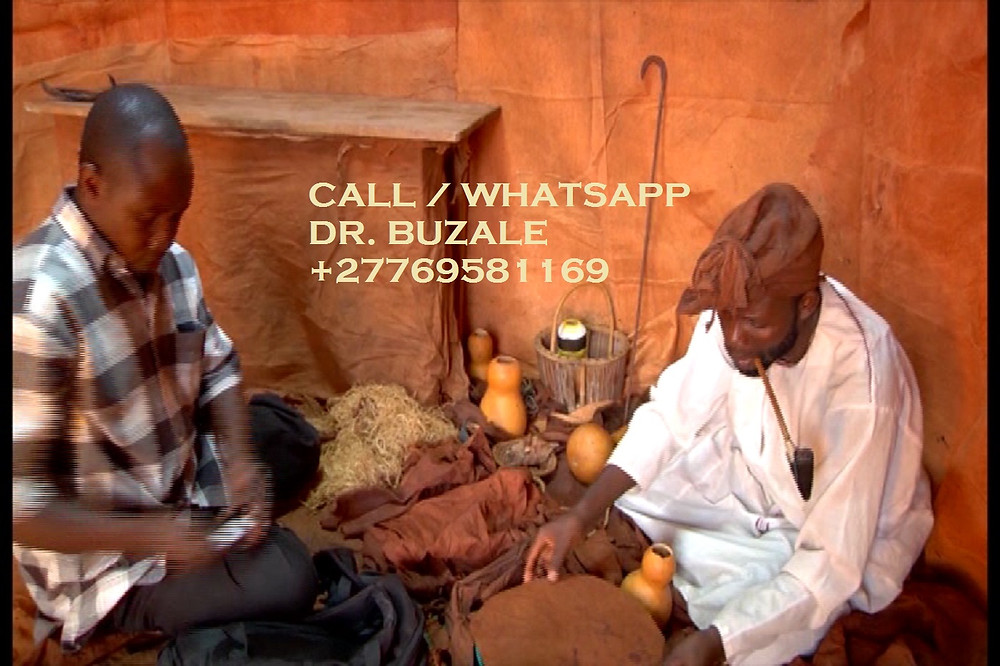 """Dr. BUZALE RICHARD ''+27769581169''. Is unique Traditional herbalist healer, Lost Love Spell Caster, Sangoma like no other; His regarded by many as the Greatest healer of this generation; ^ Bring back lost lover in (3days). ^ Strong love spells/Marriage spells ^ Do you have pregnancy complications? ^ Get a partner of your choice (3days). ^ Job and job promotion ^ Remove bad luck ^ Remove tokoloshe and cleansing of homes premises. ^ Do you want divorce or stop it? ^ Make him/her love yours alone. ^ Business and money boosting and customer attraction ^ Stop court cases(same day) ^ pass all assignments: Work interviews, school exams, soccer interviews  ^ win all chance games (lotto, casino, soccer bet, etc) ^ ultimate magic powers for Leadership, preachers(fellowships), sangomas FOR DETAILED INFORMATION: CALL/WHATSAPP Dr. BUZALE RICHARD '+27769581169' Email me: drbuzalehealer@gmail.com Visit my website:  https://www.powerful-traditional-herbalist-healer.com/ NOTE: """"I HELP AND DO DELIVERIES TO PEOPLE ACROSS THE WHOLE WORLD""""."""