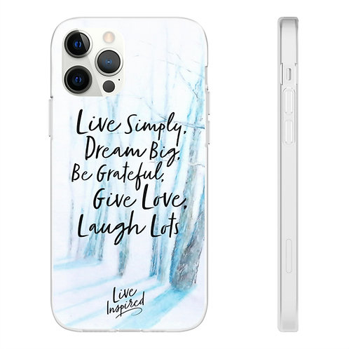 Sample Art Live Inspired Phone Case