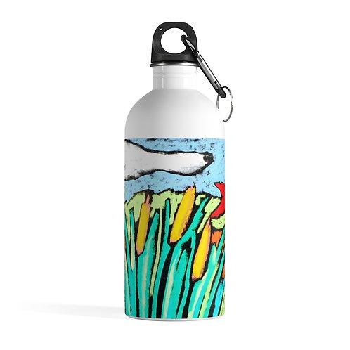 Sample Art Stainless Steel Water Bottle