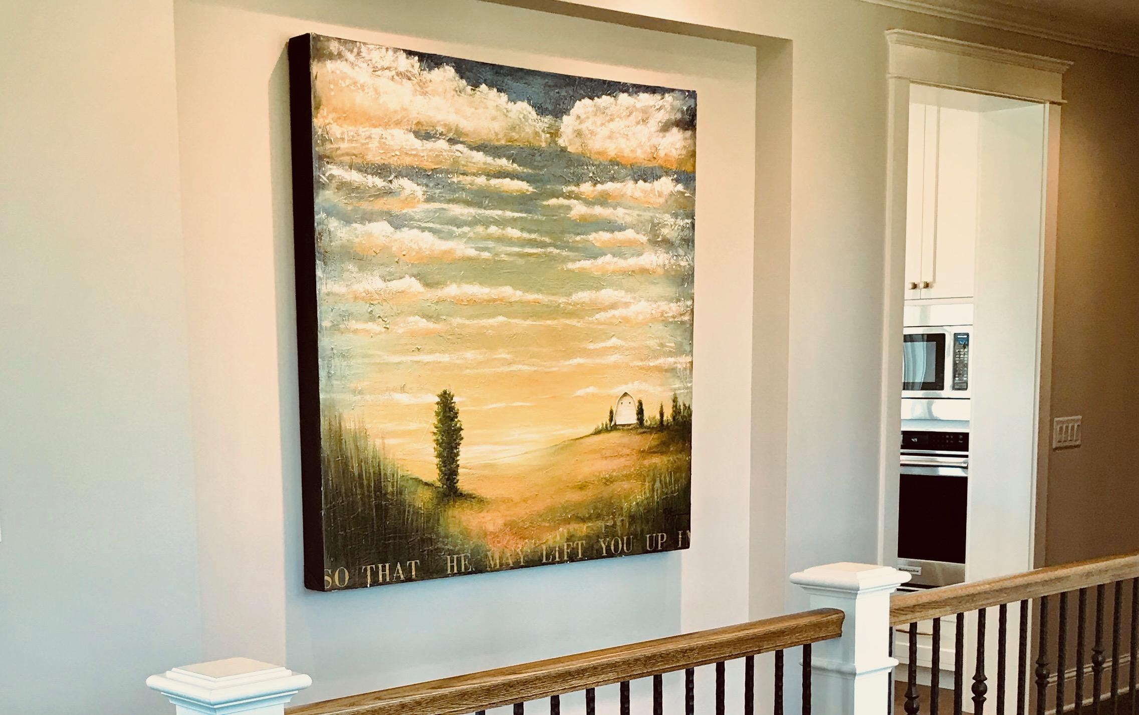 Lift you up Scott Sample Art room