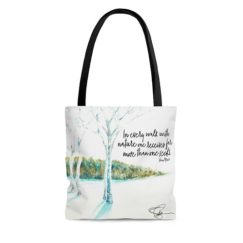 Sample Art: Live Inspired Tote Bag