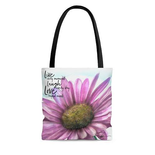 Sample Art: Live Inspired Tote Bag