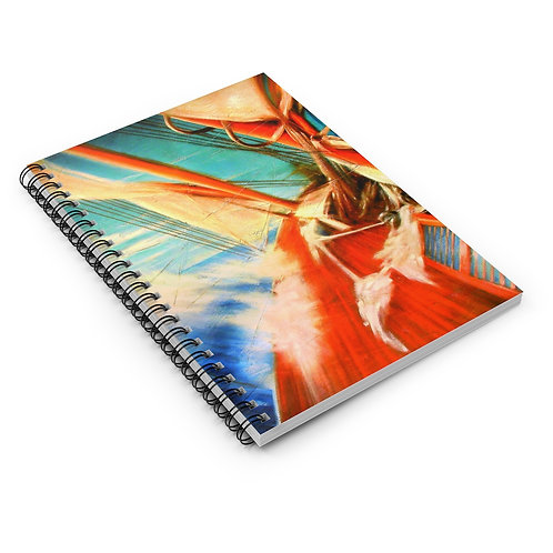 Sample Art Spiral Notebook