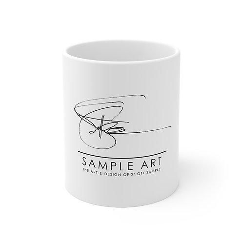 Sample Art: Branded Ceramic Mug