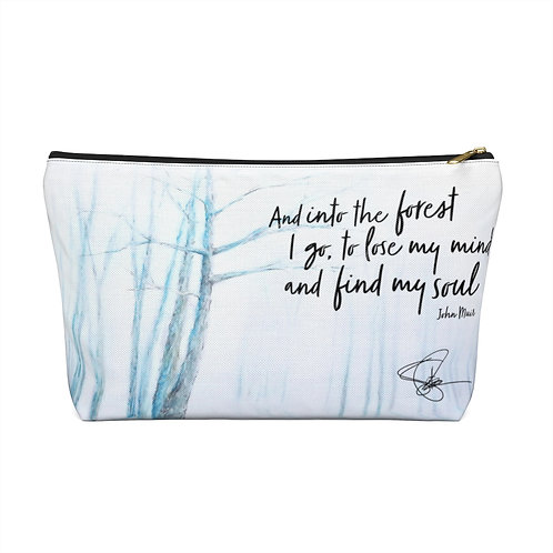 Sample Art: Live Inspired Accessory Pouch