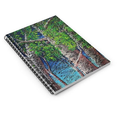 Sample Art Spiral Notebook