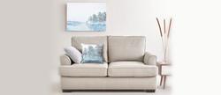Sample Art Sofa w Pillow