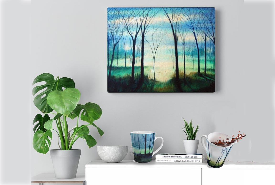 Sample Art Canvas Print