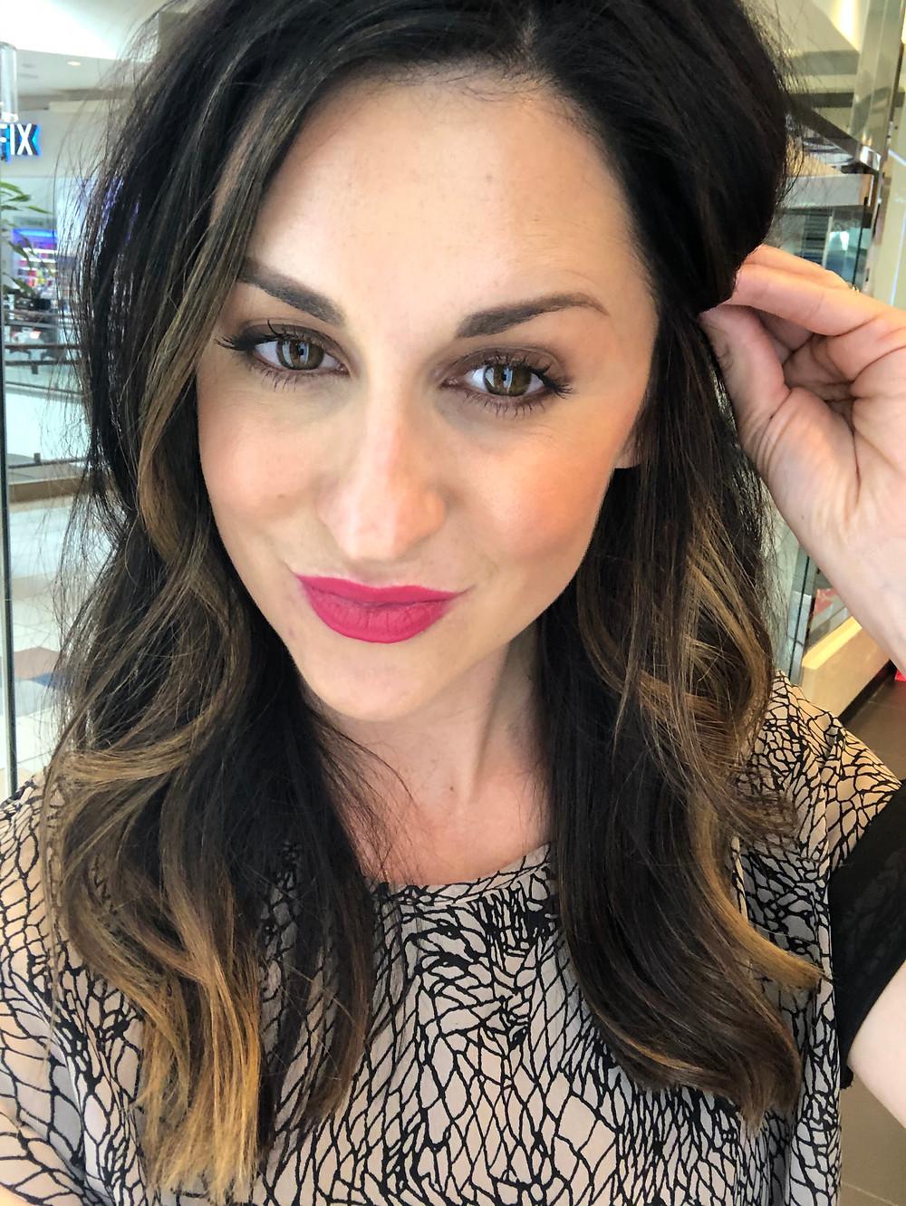 MAC Lipstick All Fired UP OKC Blogger Courtney Garrison