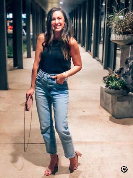 Extra High-Waisted Sky-Hi Straight Raw-Hem Jeans for Women
