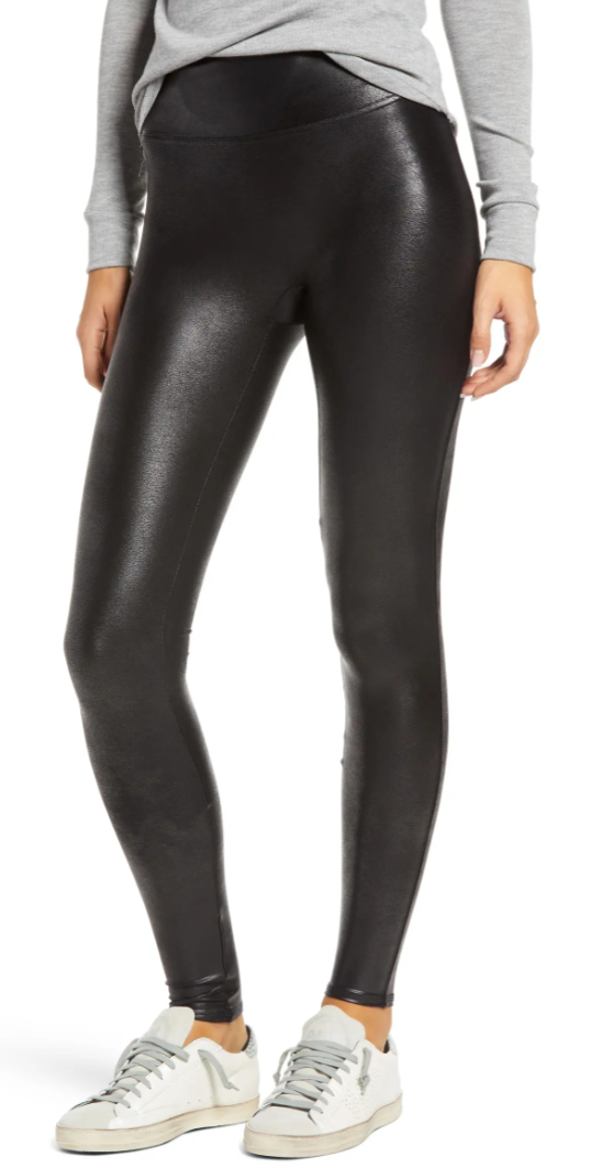 Faux Leather Leggings SPANX Black Friday