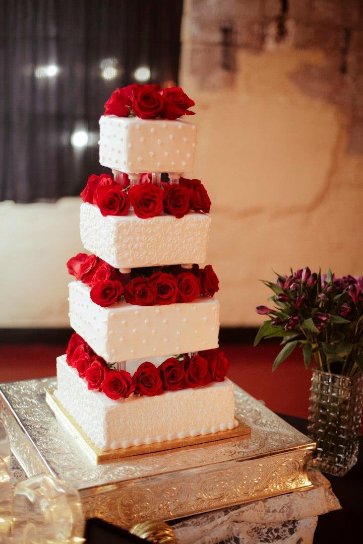 Courtney Garrison Events Wedding Cake