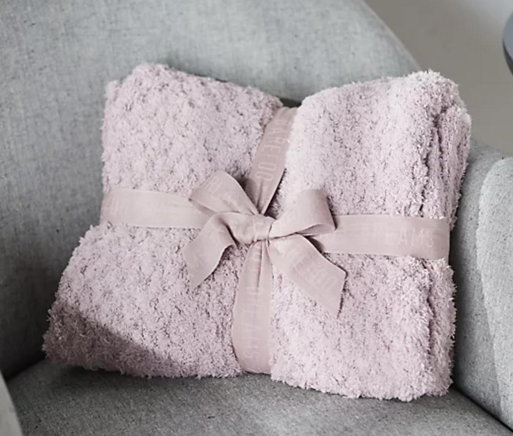 Barefoot Dreams CozyChic Honeycomb Blanket