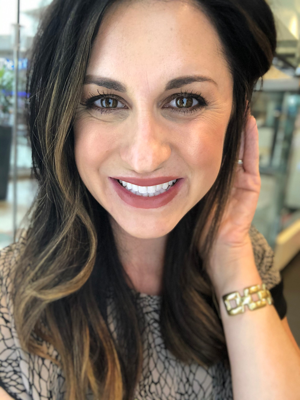 MAC Lipstick Taupe OKC Blogger Courtney Garrison