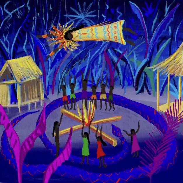 Yawanawá Tribal Ceremony