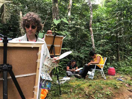 Day 4 – Painting in the rainforest