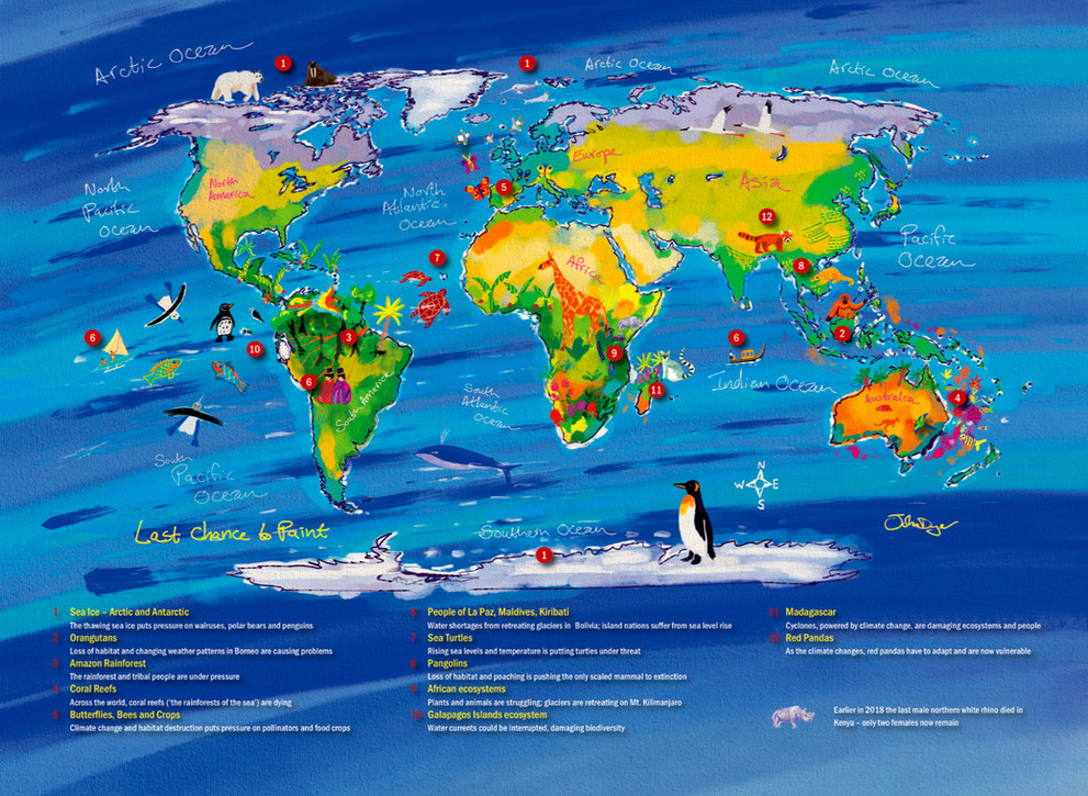 Last Chance to Paint World Map
