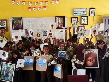 Children get creative around the world