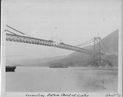 BMB Historic Constructing Span Nearly Complete