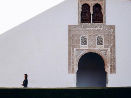 Un book en la Alhambra de Granada
