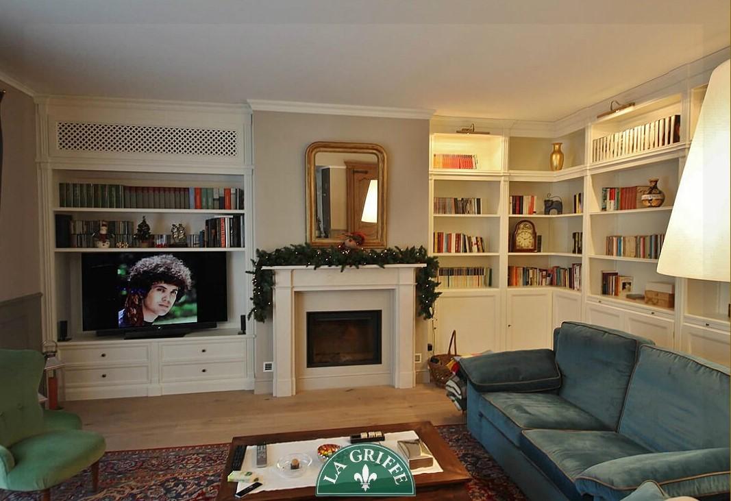 Libreria classica su misura Monza