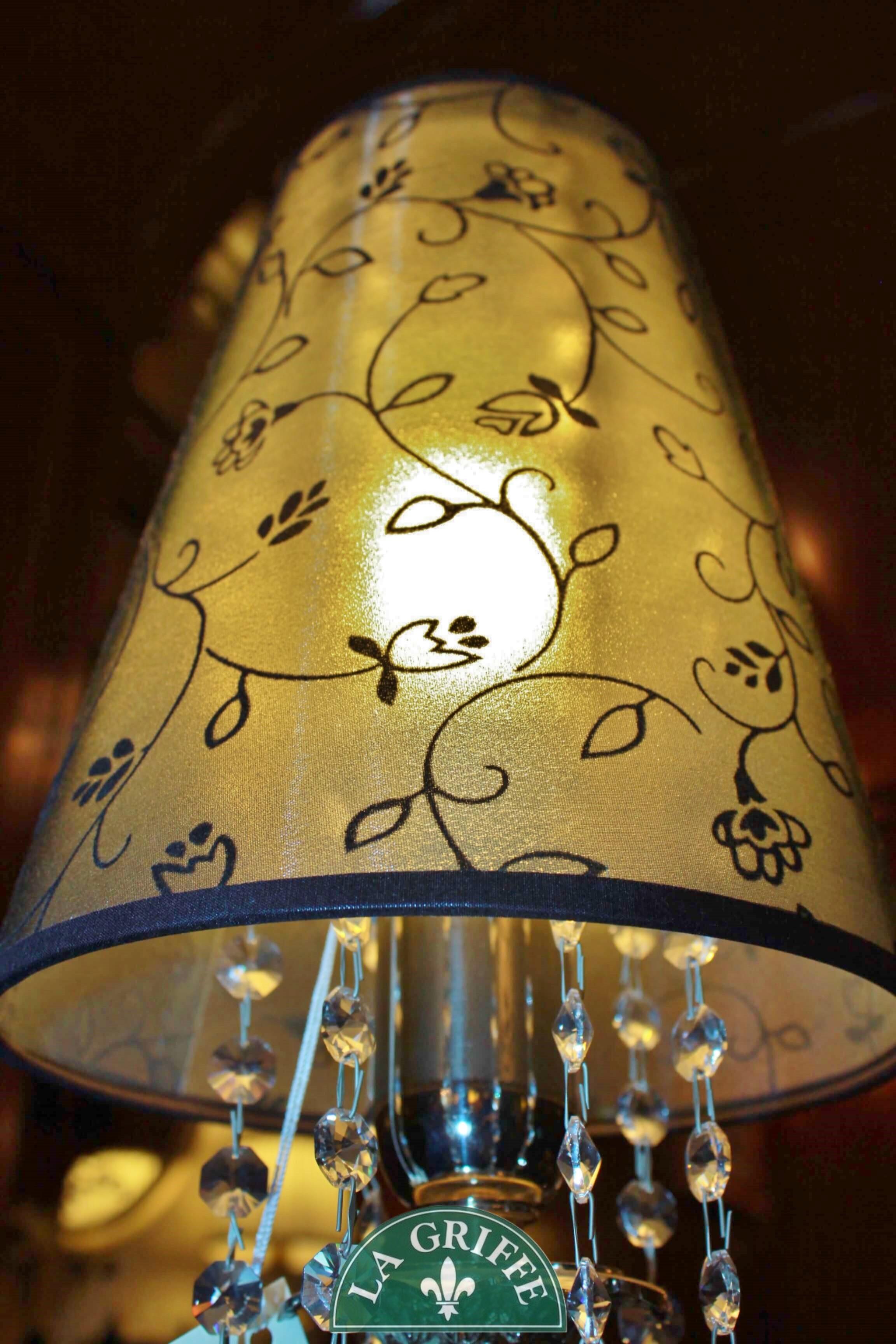 Lampada classica - Paralume Marina
