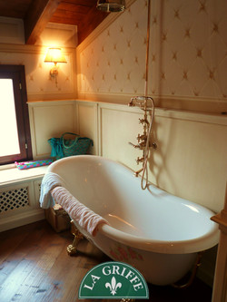 vasca bagno shabby chic classico