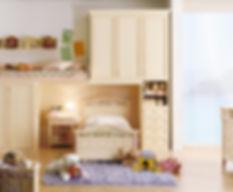 Camerette bambini ragazzi su misura armadi, letti, comodini - arredamento monza brianza milano