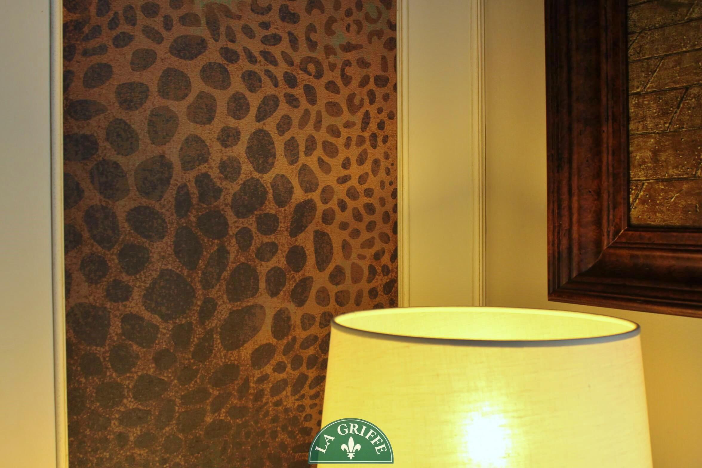 wall & deco cheetah la griffe arreda