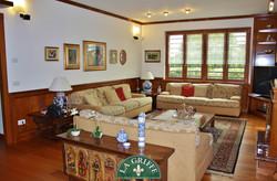salotto soggiorno classico su misura