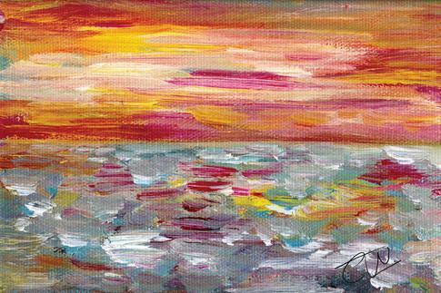 Sunset study 1