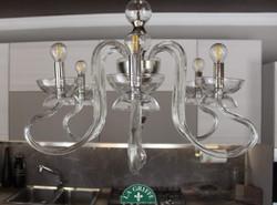 Lampadario Mirò a 6 luci classico