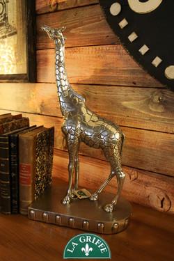 Atena - Giraffe fermalibri in peltro