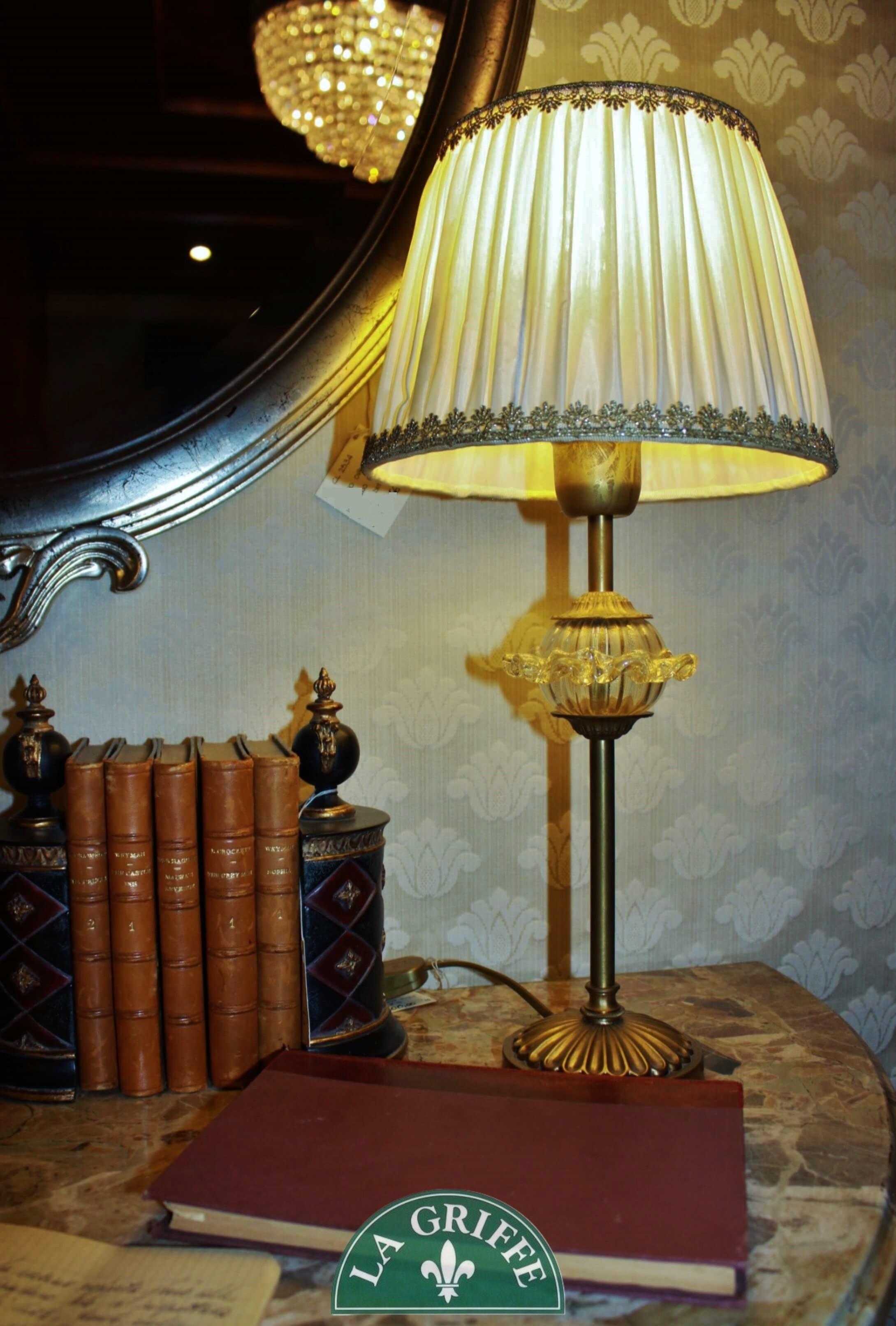 Lampada classica in cristallo
