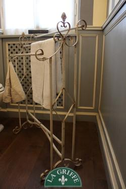 porta asciugamano vintage