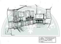 Progettazione soggiorno su misura