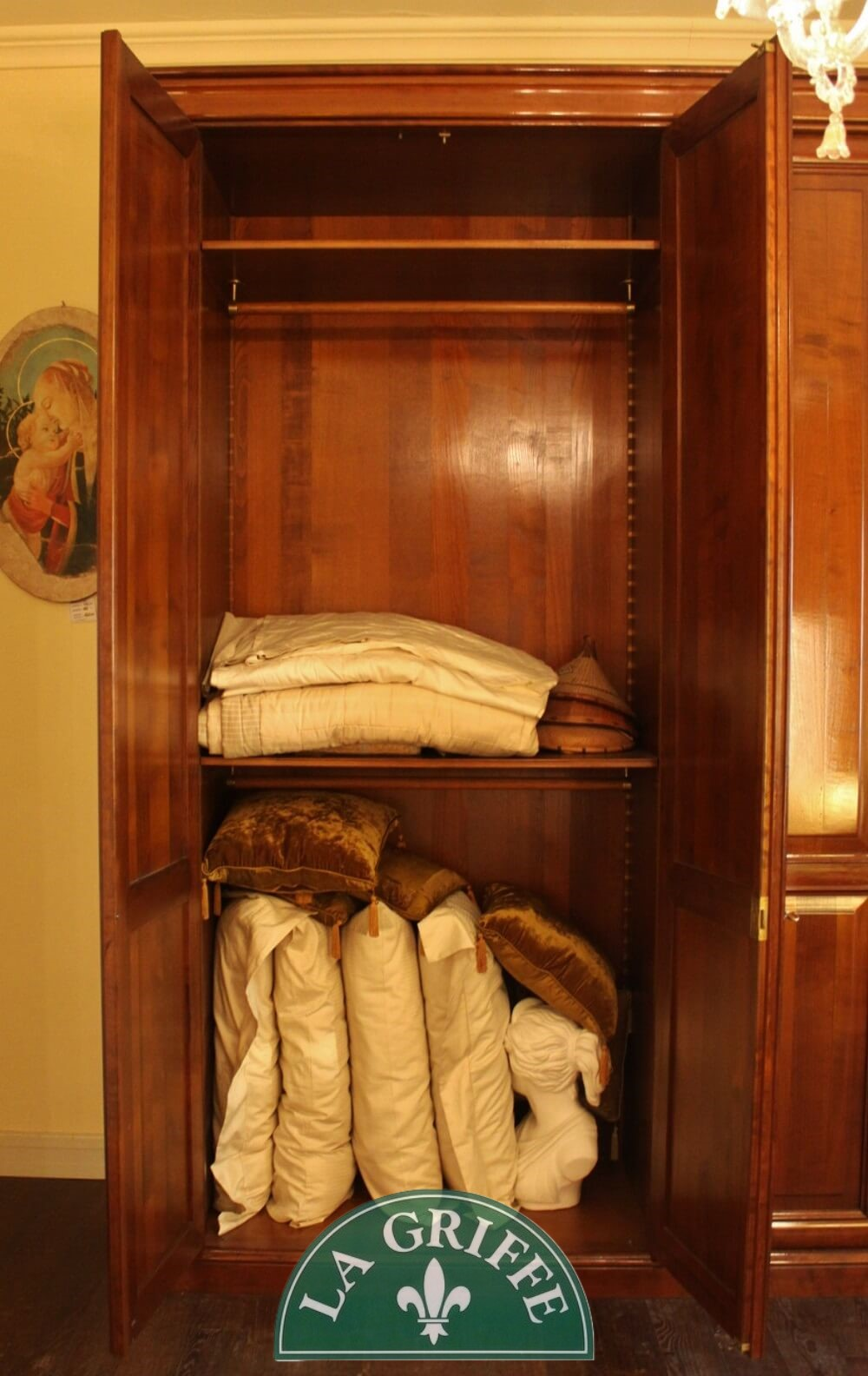 armadio classico 5 porte battente
