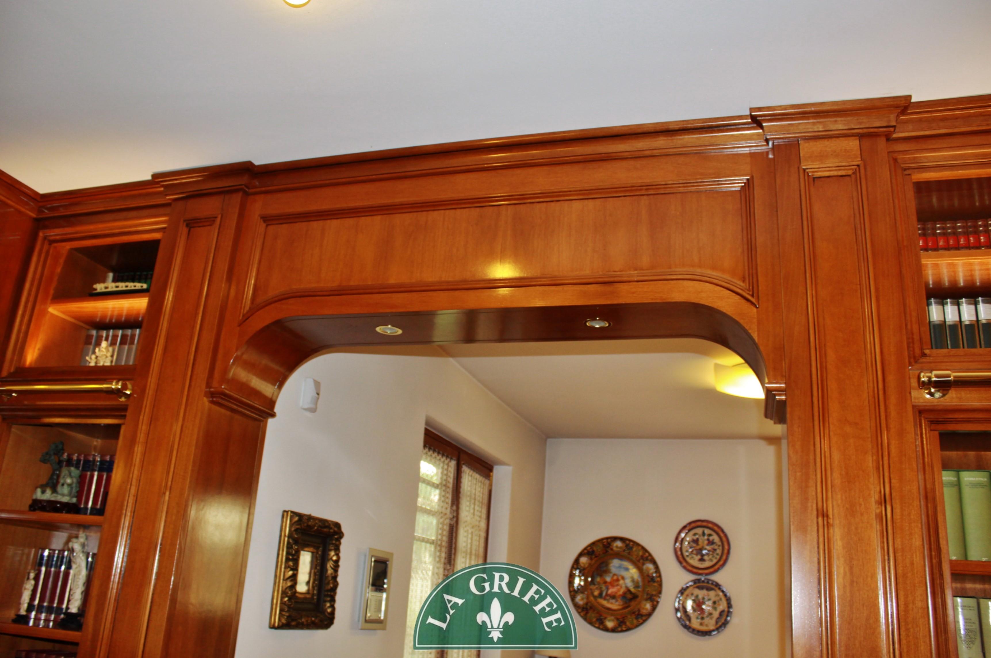 boiserie soffitto arredo classico