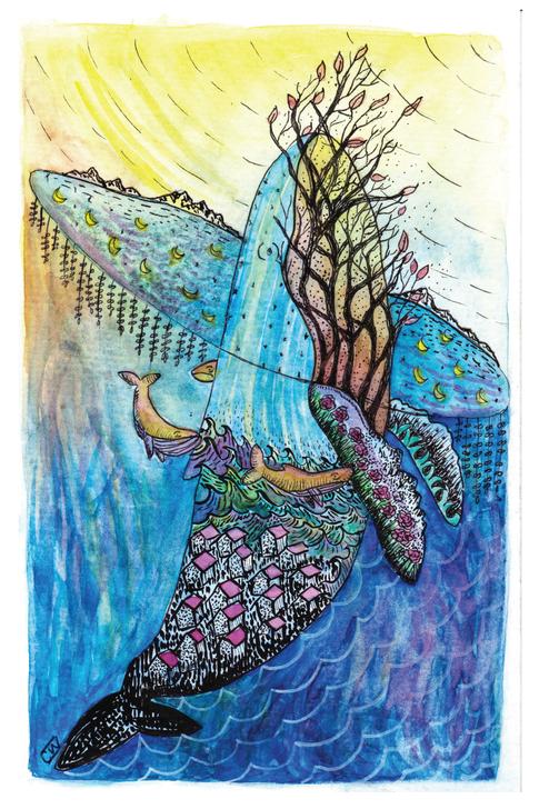 Whale Ascent