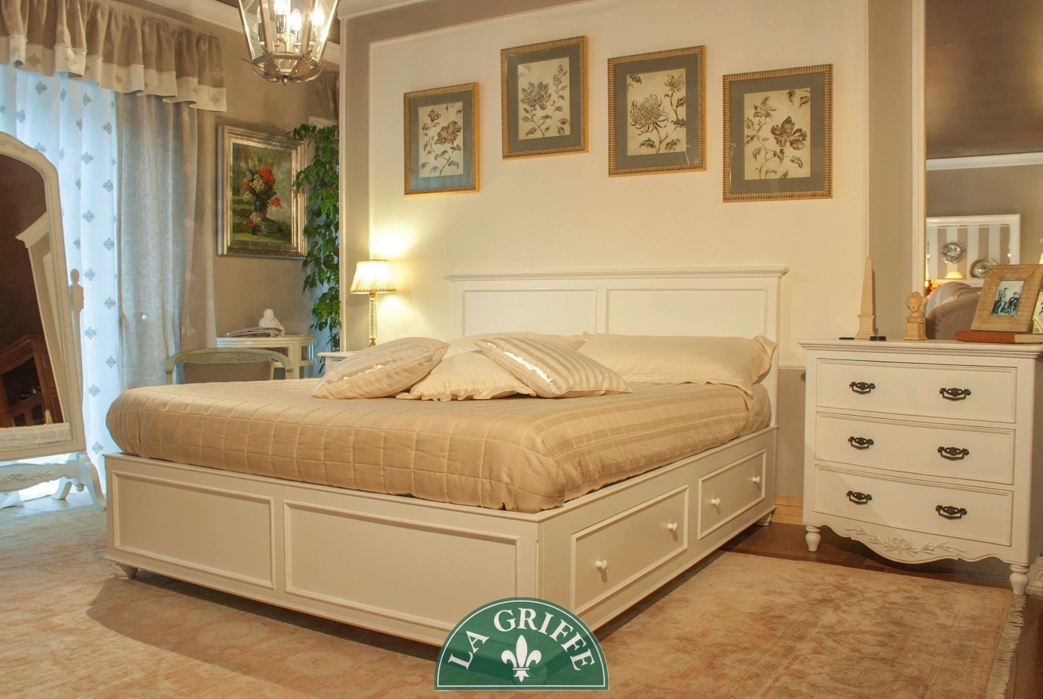 camera letto su misura provenzale