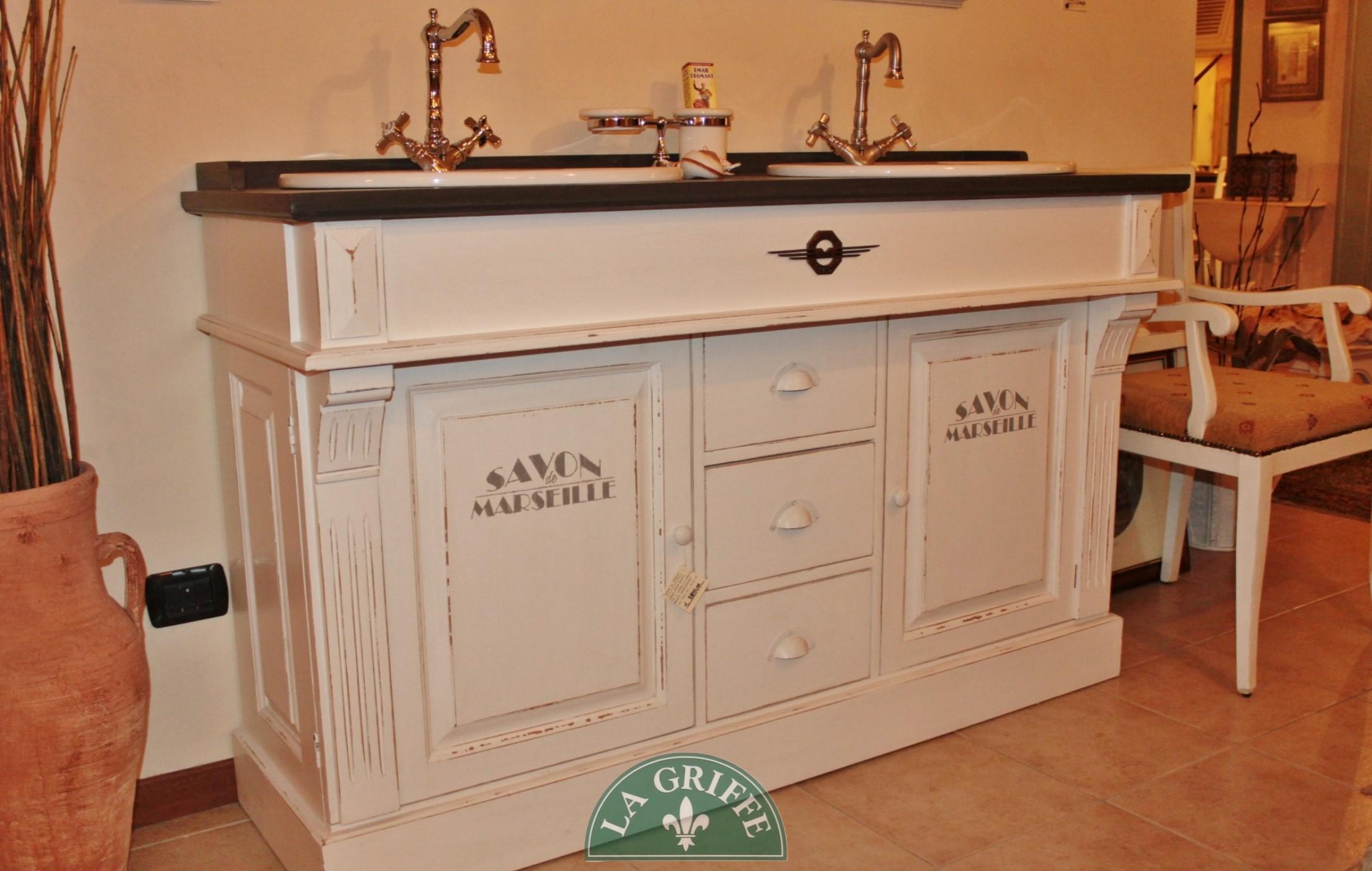 base bagno 2 vasche classico
