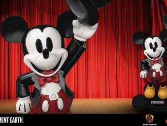 A Mouse for All Seasons - New Mickey Statue!