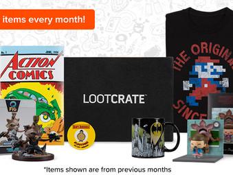LootCrate - 30% Off All Subscriptions + Random Gift Set