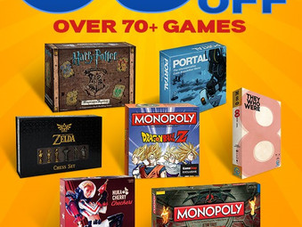 65% OFF BLOWOUT BOARD GAME SALE