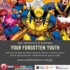 Advertisement for podcast - Your Forgotten Youth.