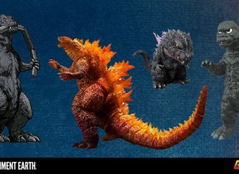 King of the Monsters: A New Generation of Godzilla Toys