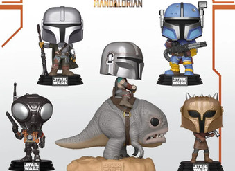 """Pre-Ordering """"The Mandalorian"""" Pop Vinyls -- This is the way."""