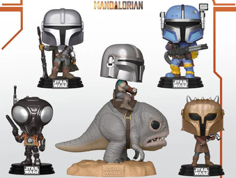 "Pre-Ordering ""The Mandalorian"" Pop Vinyls -- This is the way."