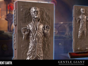 Han Solo Carbonite Statue Incoming